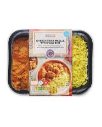 Chicken Tikka Masala with Pilau Rice