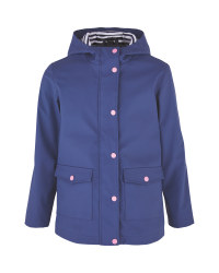 Children's Smoke Blue Raincoat