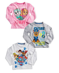 Children's Paw Patrol Sleeved Top