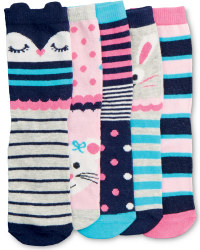 Children's Animal Socks Pack of 5