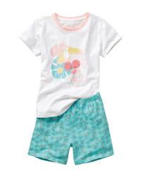 Children's Bird Design Pyjamas