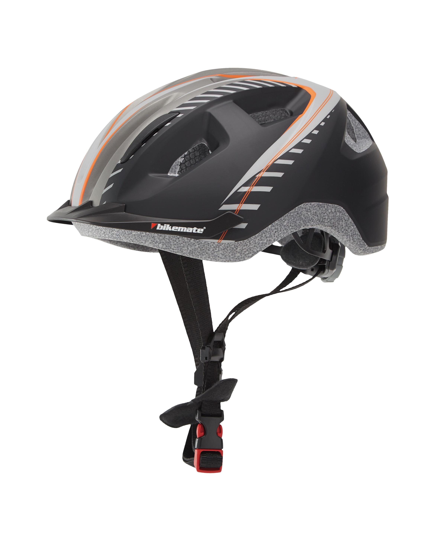 Children's Black/Grey Bike Helmet