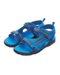 Children's Blue Trekking Sandals