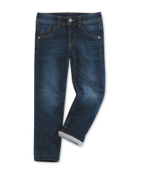 Children's Blue Black Thermojeans