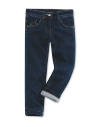 Children's Dark Blue Thermojeans