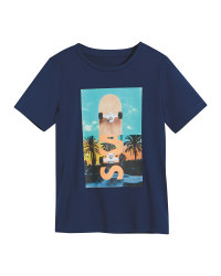 Children's Dark Blue T-Shirt
