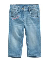 Children's Denim Cropped Trousers
