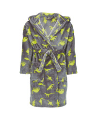 Children's Dinosaur Dressing Gown