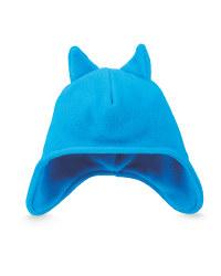 Children's Ear Flap Beanie - Dresden Blue