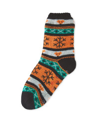 Children's Fox Slipper Sock