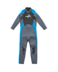 Crane Children's Full Length Wetsuit - Blue