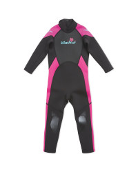 Crane Children's Full Length Wetsuit - Pink