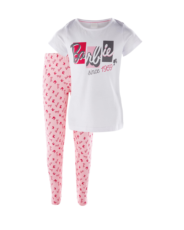 Children's White Barbie Pyjamas