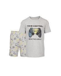 Children's Grey Organic Pyjamas