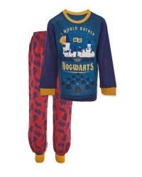 Children's Harry Potter Navy Pyjamas