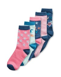 Lily & Dan Children's Mermaid Socks