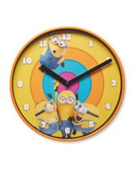 Children's Minions Clock