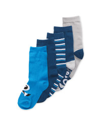 Children's Monster Socks 5 Pack