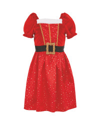 Children's Mrs Santa Costume