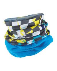 Children's Neck Warmer Fleece - Blue
