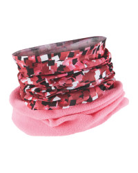Children's Neck Warmer Fleece - Pink
