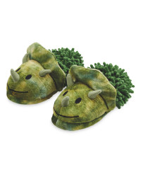 Children's Novelty Dinosaur Slippers