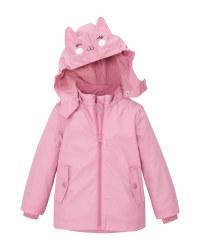 Lily & Dan Infant's Pink Raincoat