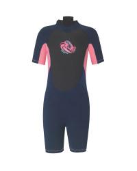 Crane Pink Children's Short Wetsuit