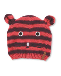 Crane Pink Stripe Small Hat