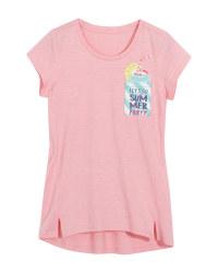 Children's Pink T-Shirt