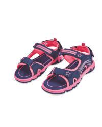 Children's Pink Trekking Sandals