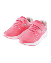 Children's Pink/Grey Trainers