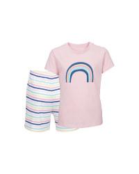 Children's Rose Organic Pyjamas