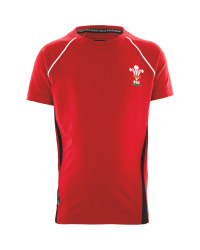 Children's Rugby T-Shirt Wales