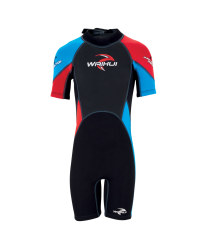 Children's Shorty Wetsuit - Red