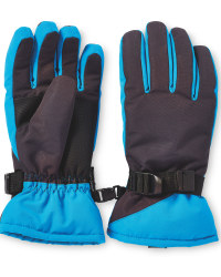 Children's Snowboard Gloves - Blue/Grey