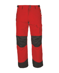 Children's Snowboard Trousers - Red