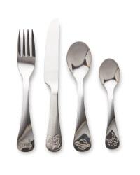 Children's Space Cutlery Set