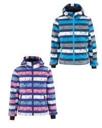 Crane Children's Striped Ski Jacket