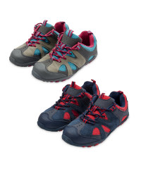 Children's Suede Trekking Shoes