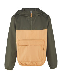 Children's Taupe Packable Mac