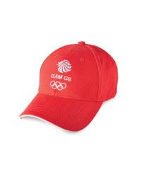 Children's Team GB Cap - Red