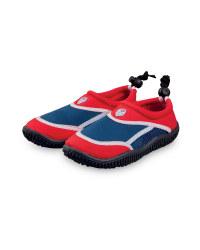 Children's Team GB Navy Aqua Shoes