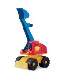 Children's Toy Digger - Red