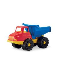 Children's Toy Dump Truck - Blue