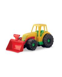 Children's Toy Tractor - Yellow