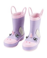 Children's Unicorn Wellies