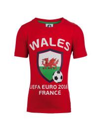 Children's Wales UEFA 2016 T-Shirt