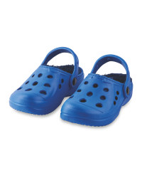 Children's Winter Clogs - Blue