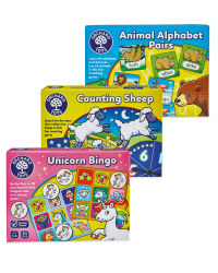 Alphabet, Sheep & Bingo Games